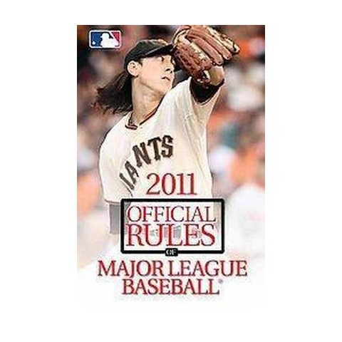 The Official Rules of Major League Baseball 2011 (Paperback)