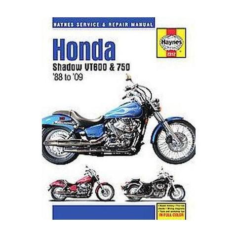 Haynes Honda VT600 & VT750 Shadow V-Twins Service and Repair Manual (Hardcover)