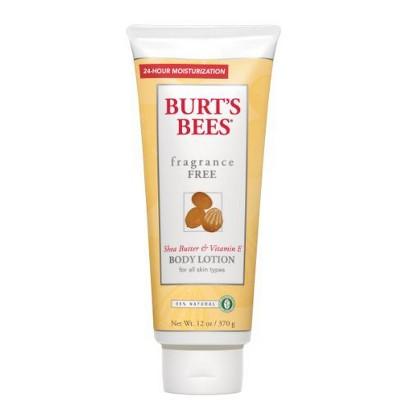 Burt's Bees Fragrance Free Lotion - 12 oz