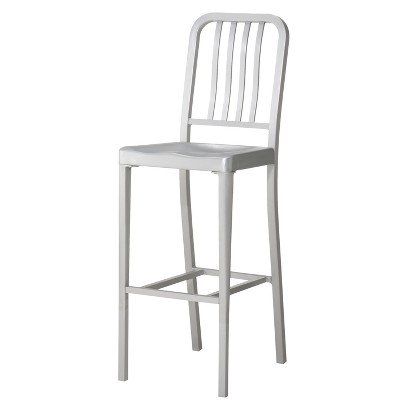 "30"" Aluminum Bar Stool"