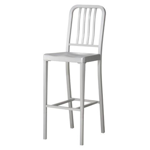 "Aluminum 30"" Barstool"