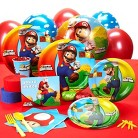 Super Mario Brothers Standard Party Kit for 8
