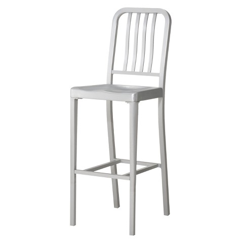 "Aluminum 24"" Counter Stool"