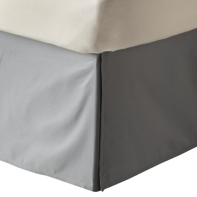 Solid Bedskirt (California King) Gray - Room Essentials™