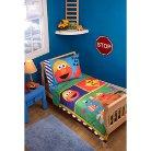 Sesame Street Construction Zone 4-pc. Bed Set - Toddler