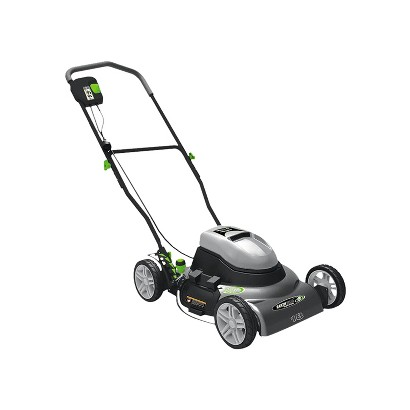 Earthwise 50218 18-Inch 12 Amp Side Discharge/Mulching Electric Lawn Mower