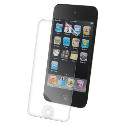 ZAGG invisibleSHIELD DRY Front Cover (DRAPIPT4S) for 4th Generation iPod touch  - Clear