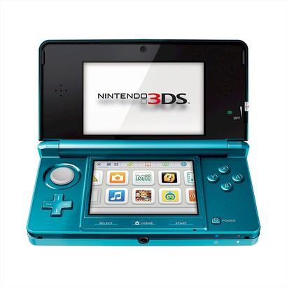 Nintendo 3DS Console - Aqua Blue (Nintendo 3DS)