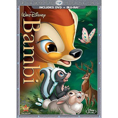 Bambi (Diamond Edition)(DVD/Blu-ray)(Includes Bonus Disc) - Only at Target
