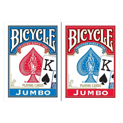 Bicycle Jumbo Playing Cards - Pack of 2