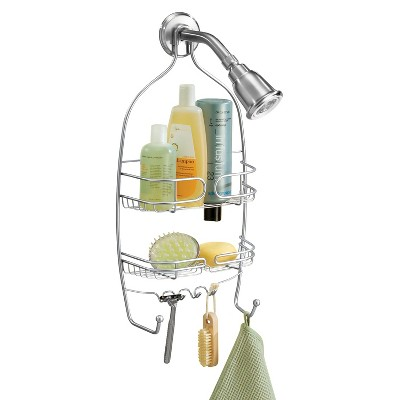 InterDesign Neo Suction Shower Caddy - Chrome (Medium)