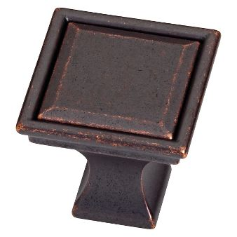 threshold 10 pack vista square knob oil rubbed bronze