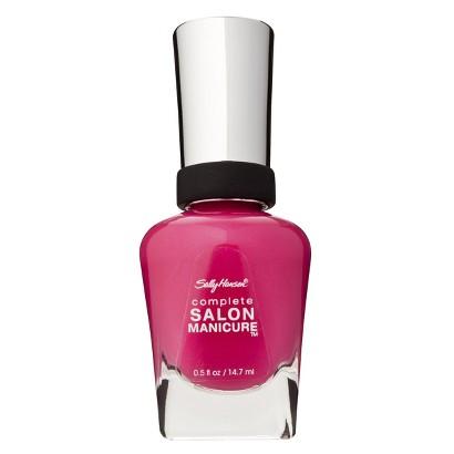 Sally Hansen Complete Salon Manicure Back To The Fuschia Nail Color