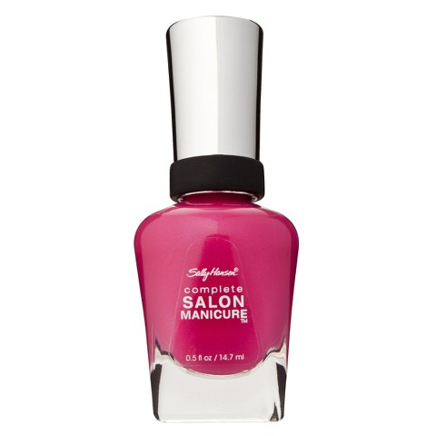 Sally Hansen Complete Salon Manicure Back To The Fuschia Nail Color