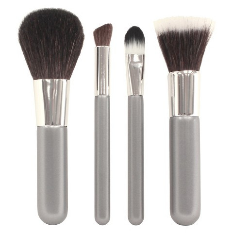 up & up™ Mineral Brush Set - 4 pieces