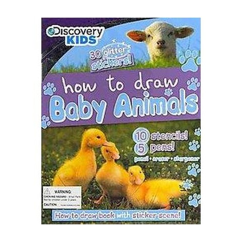 How to Draw Baby Animals (Mixed media product)