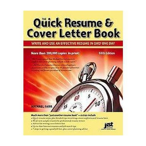 Quick Resume & Cover Letter Book (Paperback)