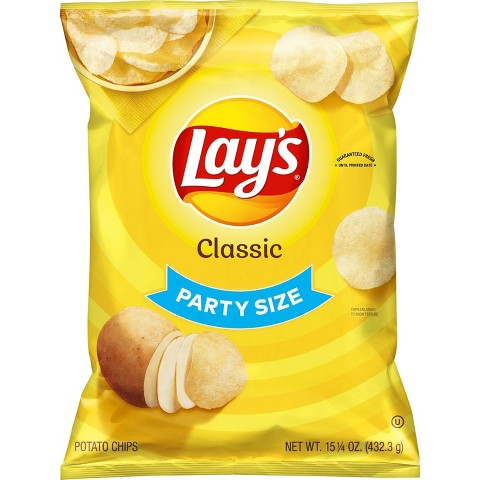 Lay's Party Size Classic Potato Chips 13.75 oz