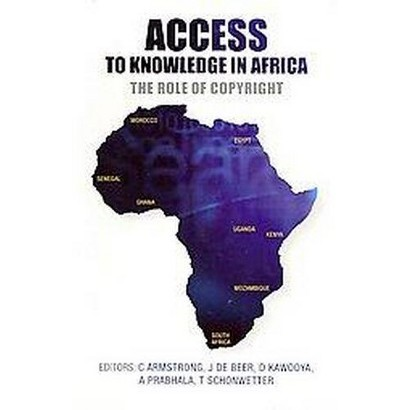 Access to Knowledge in Africa (Paperback)