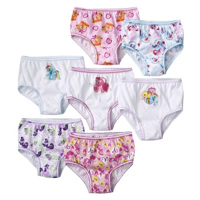 7 Pack Underwear, Toddler Girls' Little Pony 4T