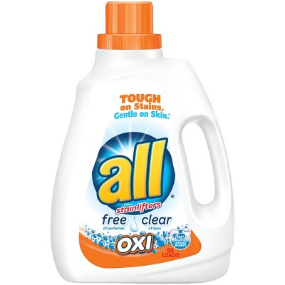All Free & Clear with Oxi Liquid Laundry Detergent 94.5 oz