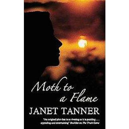 Moth to a Flame (Large Print) (Hardcover)