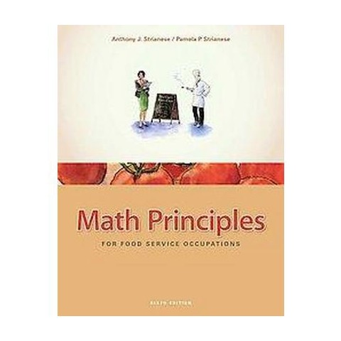 Math Principles for Food Service Occupations (Hardcover)