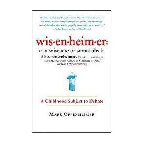Wisenheimer (Reprint) (Paperback)