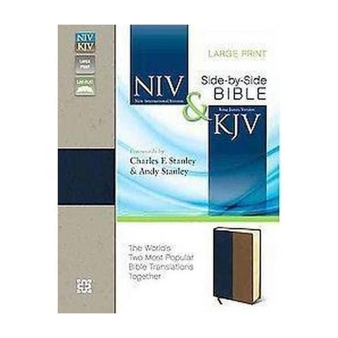 NIV & KJV Side-by-Side Bible (Large Print) (Paperback)