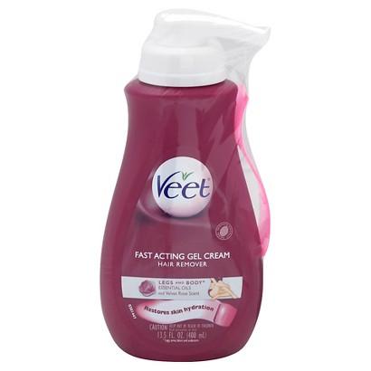 Veet Suprem 'Essence Velvet Rose Hair Removal Gel Cream 13.5-oz.