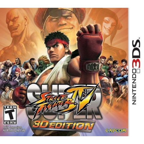 Super Street Fighter: 3D Edition (Nintendo 3DS)