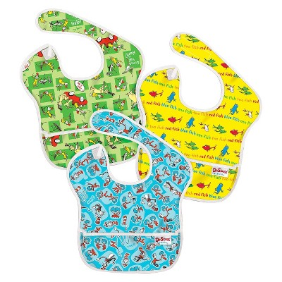 Bumkins Super Bib 3 pack - Dr Seuss