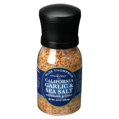 Olde Thompson Garlic Sea Salt Adjustable Grinder - 9 oz