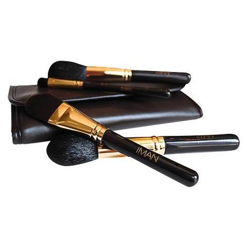 IMAN Makeup Brush Collection - 4 piece