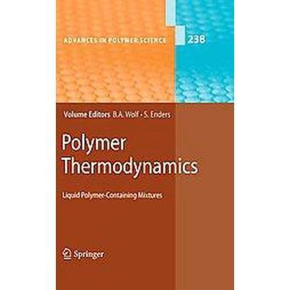 Polymer Thermodynamics (Hardcover)