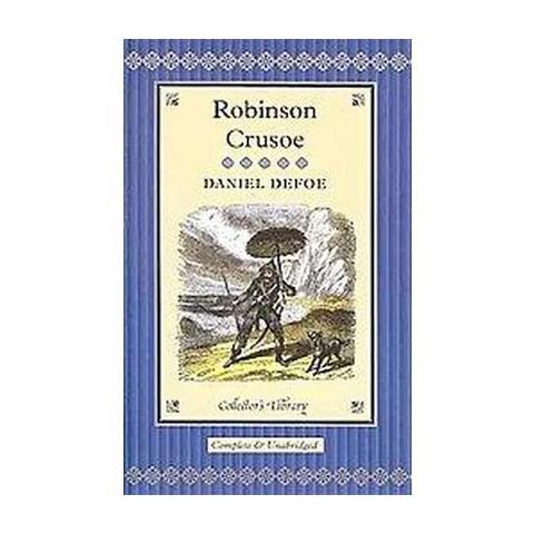 Robinson Crusoe (Unabridged) (Hardcover)