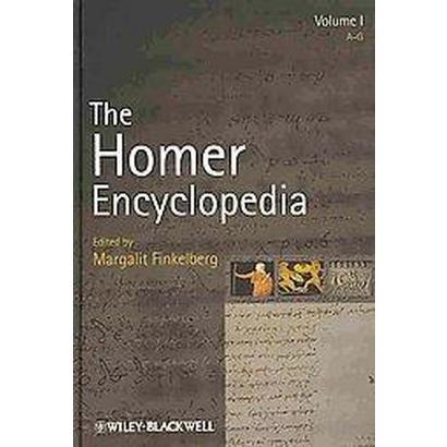 The Homer Encyclopedia (Hardcover)