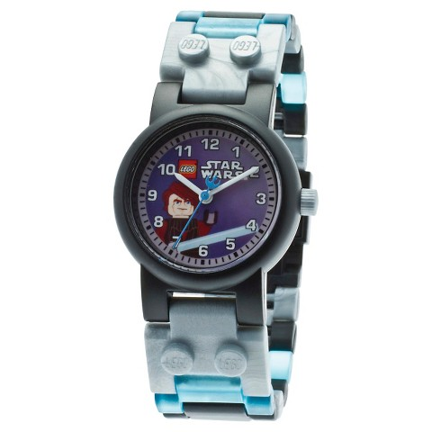 Boy's Lego Clone Wars Anakin Watch With Mini Figure - Multicolor