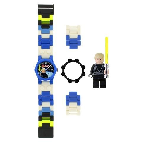 Boy's LEGO® Star Wars Luke Skywalker Watch with Mini Figure - Multicolor