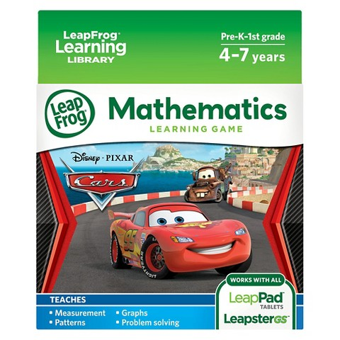 LeapFrog® Learning Game: Disney/Pixar Cars (for LeapPad® Tablets and LeapsterGS)
