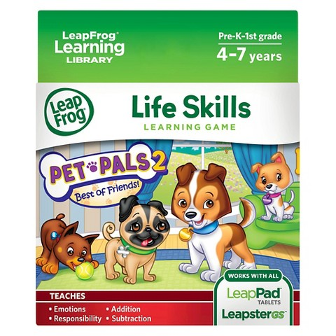 LeapFrog® Explorer Learning Game - Pet Pals 2 - Best of Friends