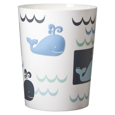 Whale Watch Wastebasket