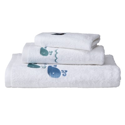 Whale Watch 3-pc. Bath Towel Set