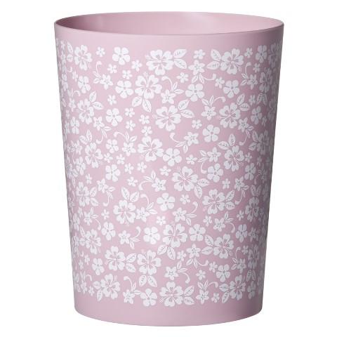 Lizzie Plastic Wastebasket