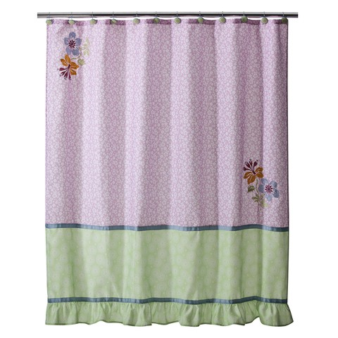 lizzie shower curtain 70x71 product details page