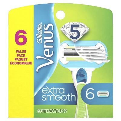 Gillette Venus Embrace Women's Razor Refills - 6 count