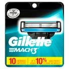 Gillette Mach3 Base Cartridges - 10 count