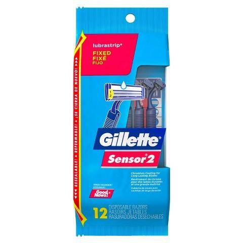 Gillette Sensor2 Disposable Razor - 12 count