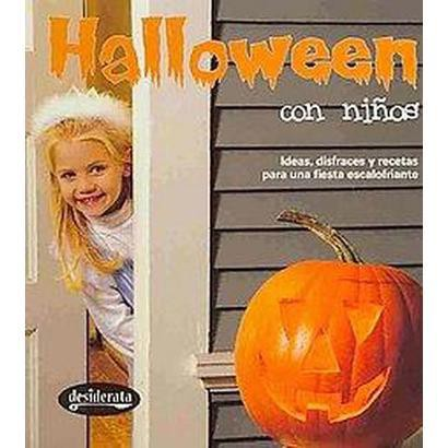 Halloween con ninos / Halloween with Kids (Illustrated) (Hardcover)