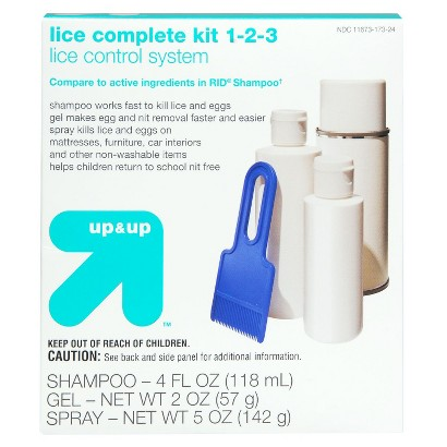 up&up Shampoo, Gel and Spray Lice Solution Kit - 11 oz